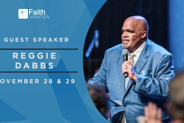 Guest Speaker: Reggie Dabbs